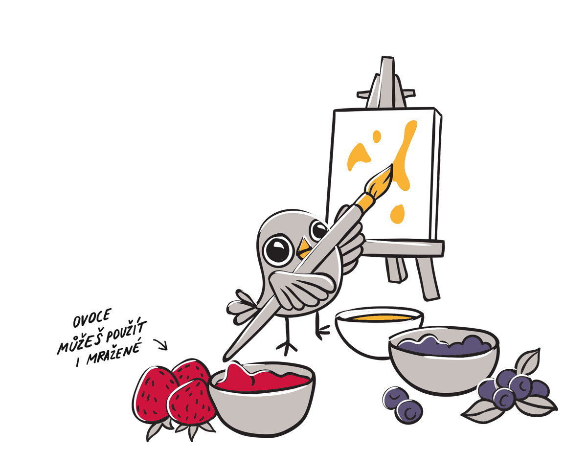 Recept na sladké malířské plátno